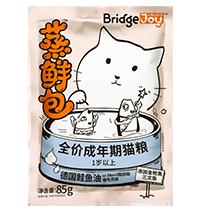 比瑞吉俱乐部蒸鲜包全价成年期猫粮 添加金枪鱼三文鱼
