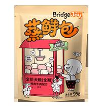 比瑞吉俱乐部蒸鲜包全价犬粮(全期)含鸡肉牛肉配方
