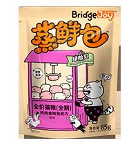 比瑞吉俱乐部蒸鲜包全价猫粮(全期)鸡肉金枪鱼配方
