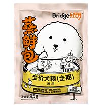 比瑞吉俱乐部蒸鲜包全价犬粮(全期)鸡肉牛肉配方