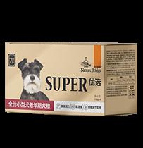 比瑞吉 优选 全价小型犬老年期犬粮